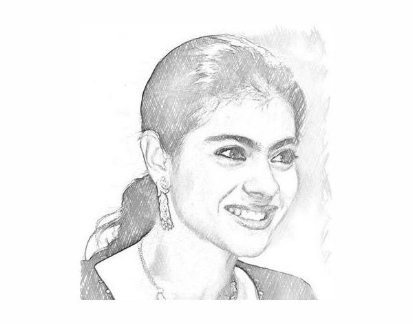 Human Face Pencil Drawing
