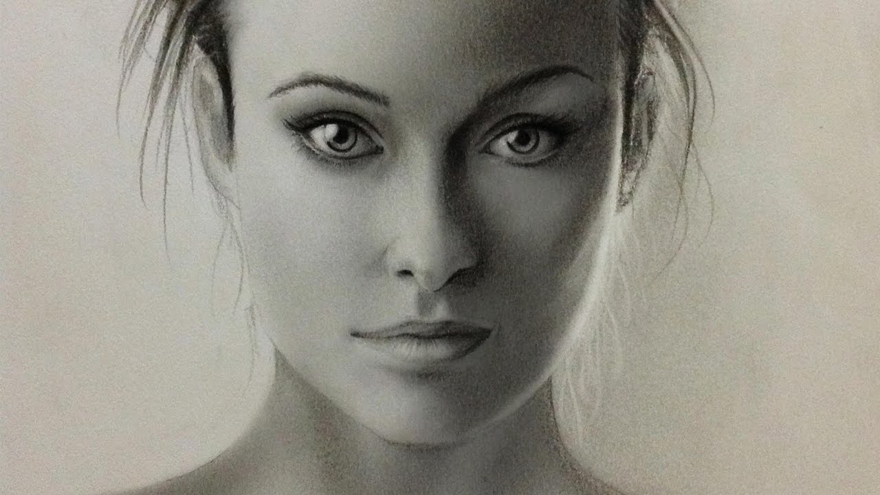 Human Face Pencil Drawing at GetDrawings | Free download