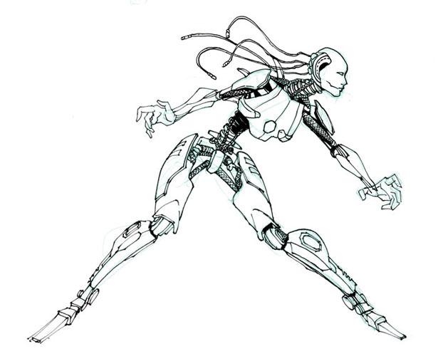 Human Robot Drawing