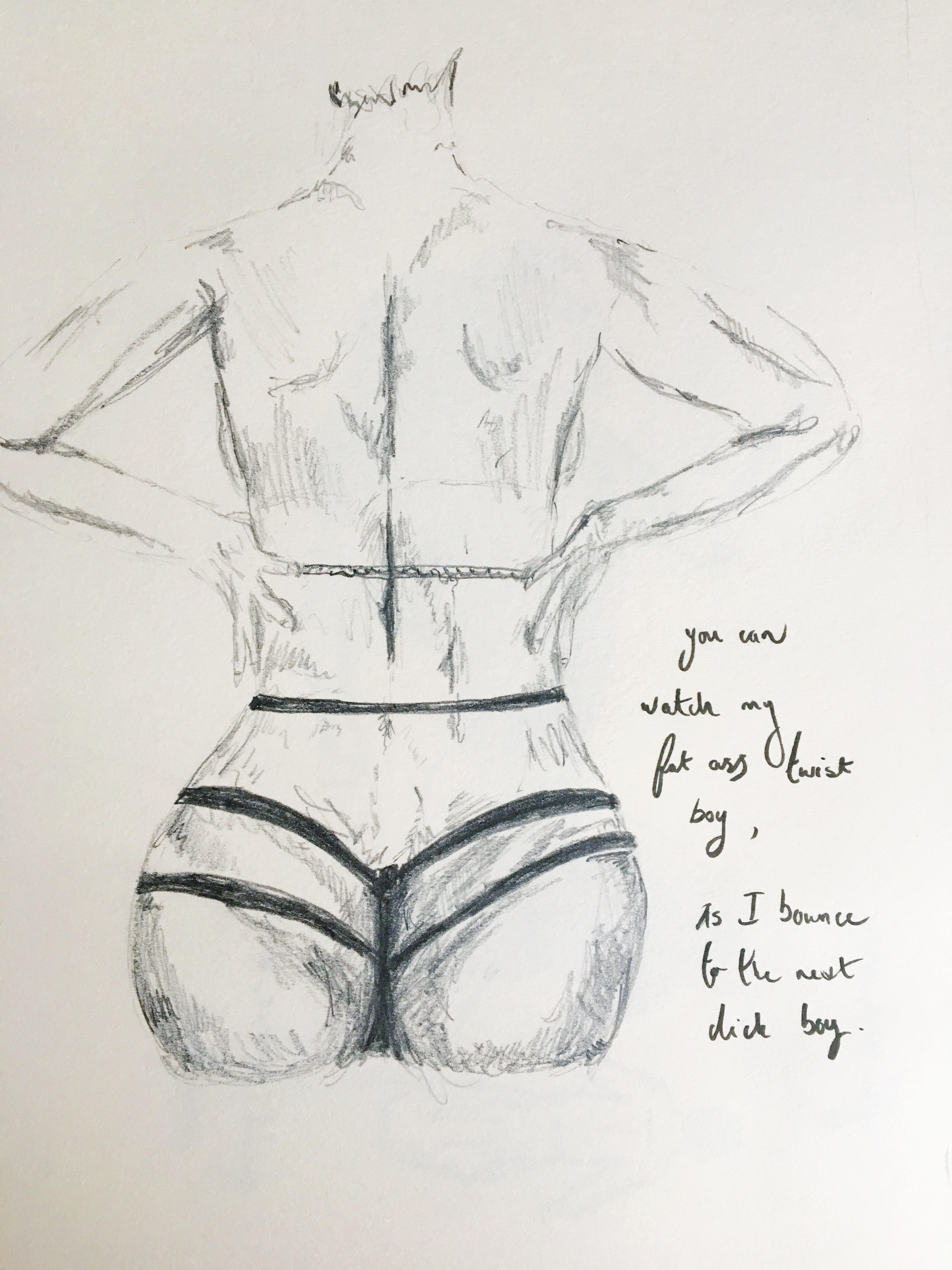 3024x4032 Hurt Yourself Beyonce Lemonade Bert Illustration