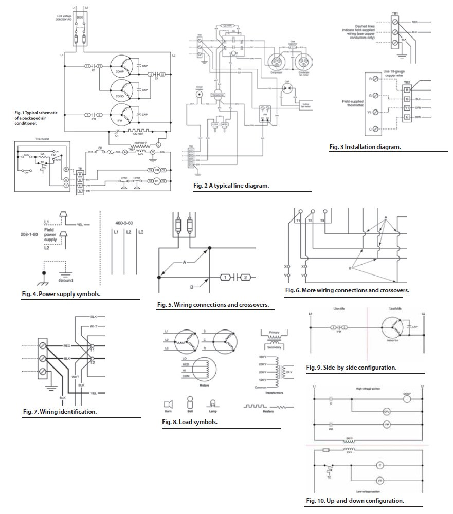 Hvac Drawing Symbols Legend At Free For Personal Basic Electrical Wiring Diagrams 881x1000 Diagram Download