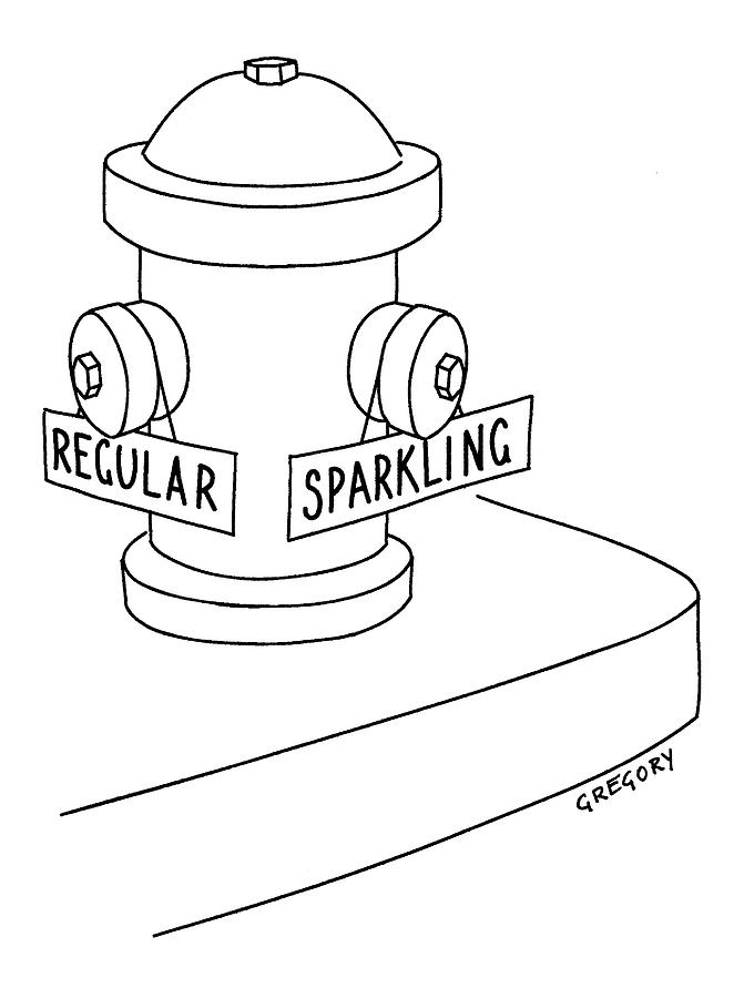 671x900 Captionless Fire Hydrant With Regular Or Drawing By Alex Gregory
