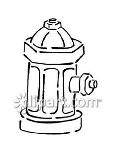 236x314 Fire Hydrant Drawing