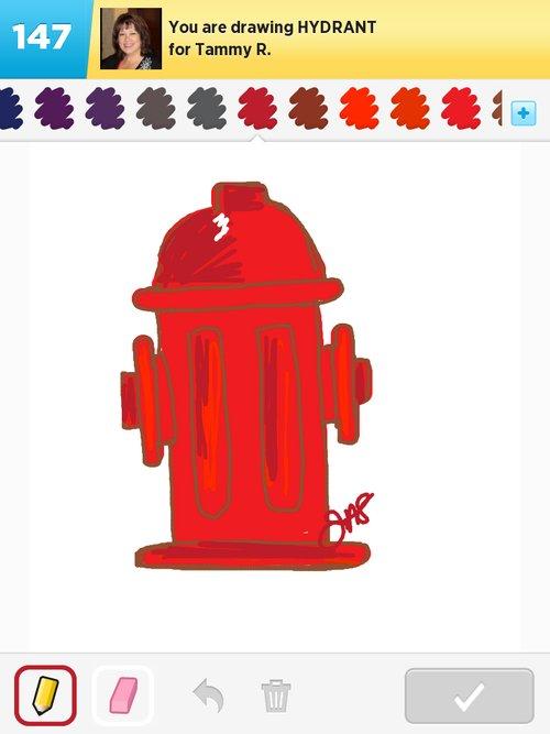 500x667 Hydrant Drawings