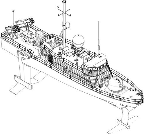 Hydrofoil Drawing