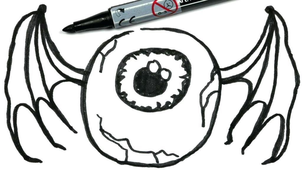 1024x576 Easy Halloween Drawings For Kids