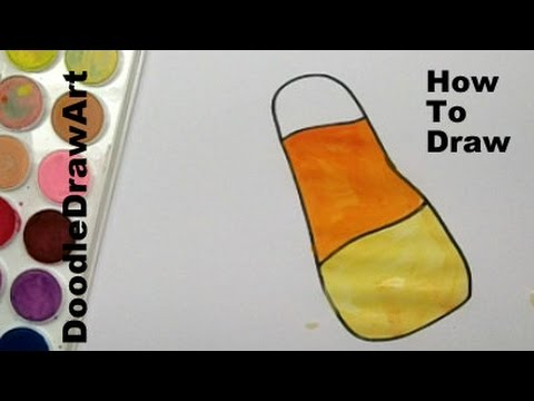 480x360 Drawing How To Draw Candy Corn