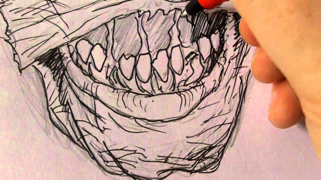 1280x720 Drawing A Mummy Halloween Mask Idea (1 Of 365)