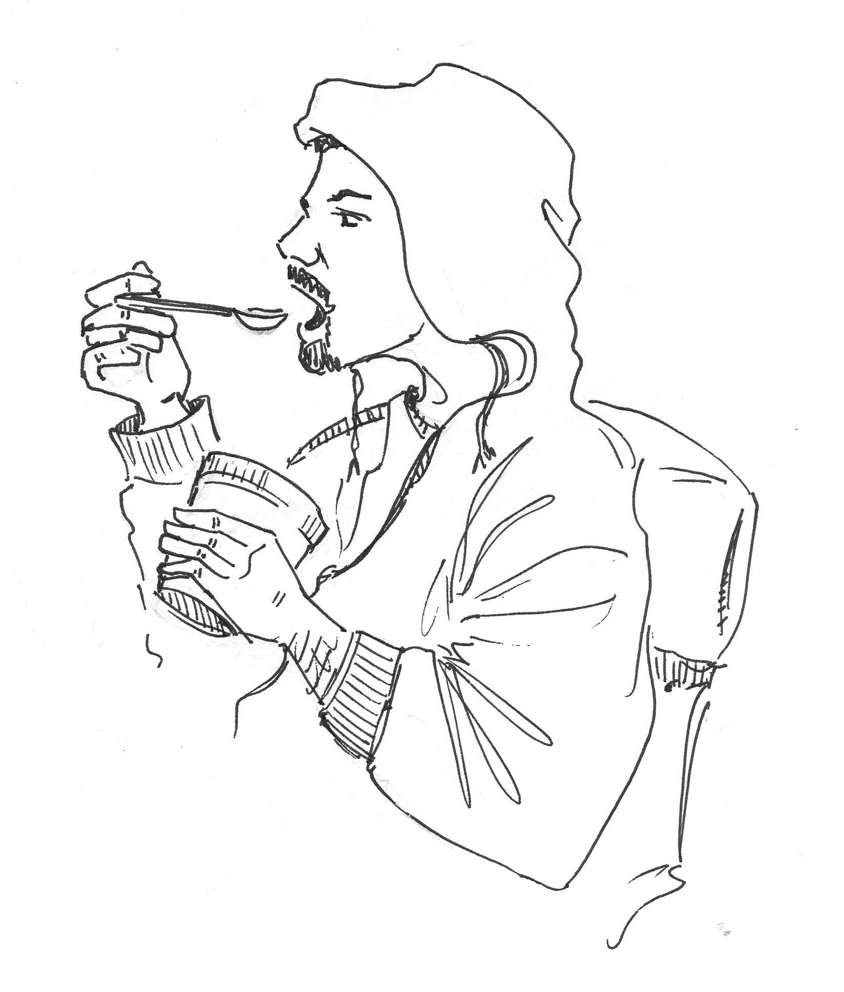 Image Of Someone Drawing