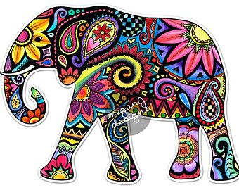 340x270 201 Best Elephant Coloured Pages Images On Coloring