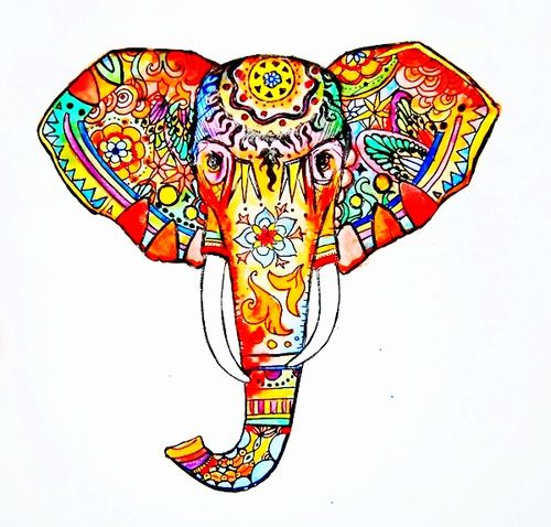 500x478 Kinda Digging This Beautiful Elephant For A Tattoo Surprising