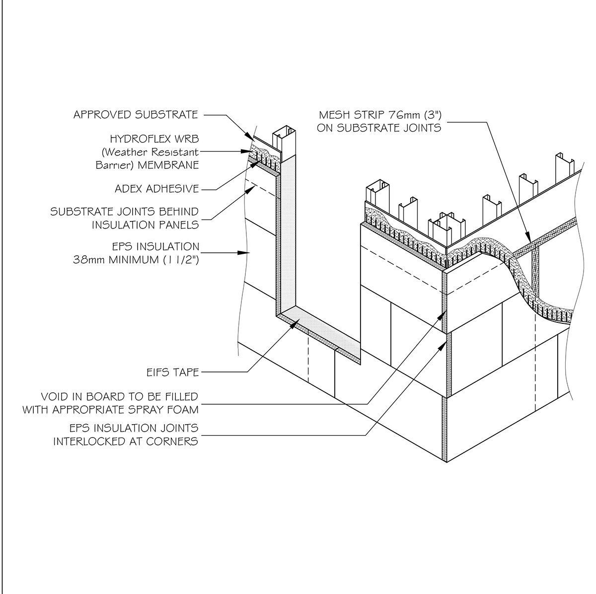 Insulation Drawing