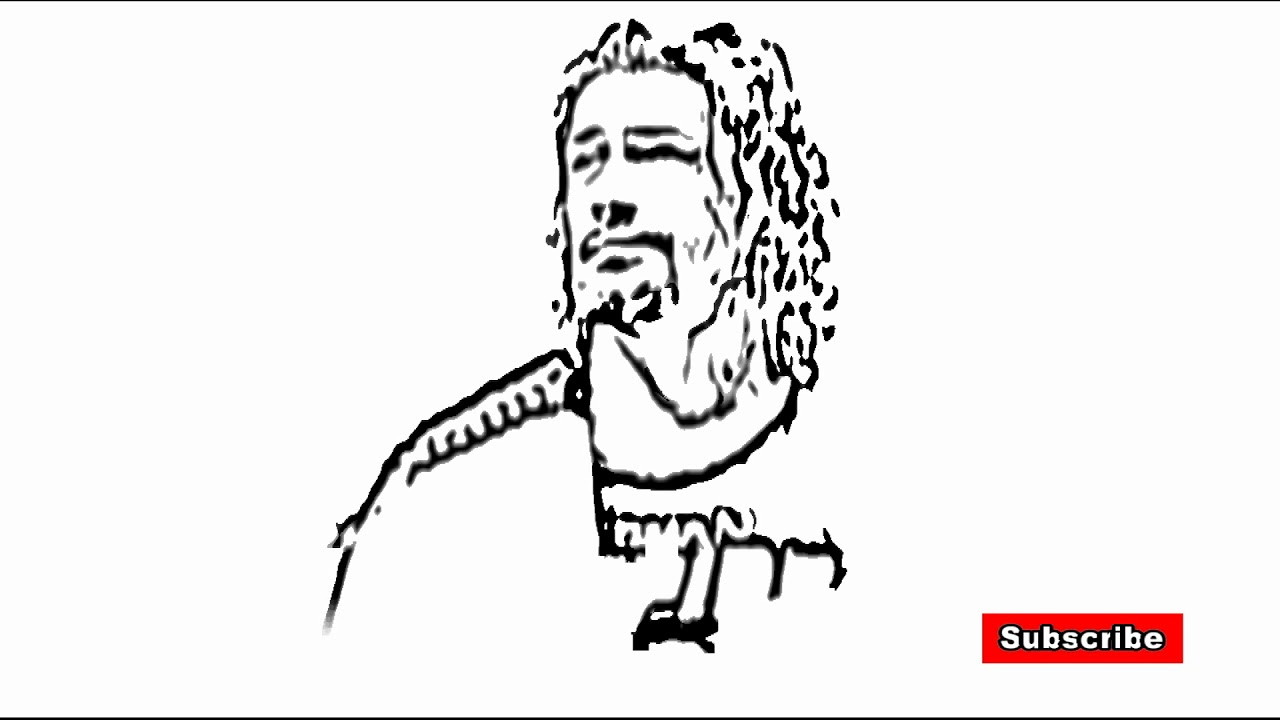 1280x720 How To Fast Drawing Roman Reigns
