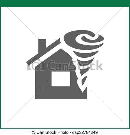 450x470 Property Insurance Icon. Home Protections And Insurance Eps
