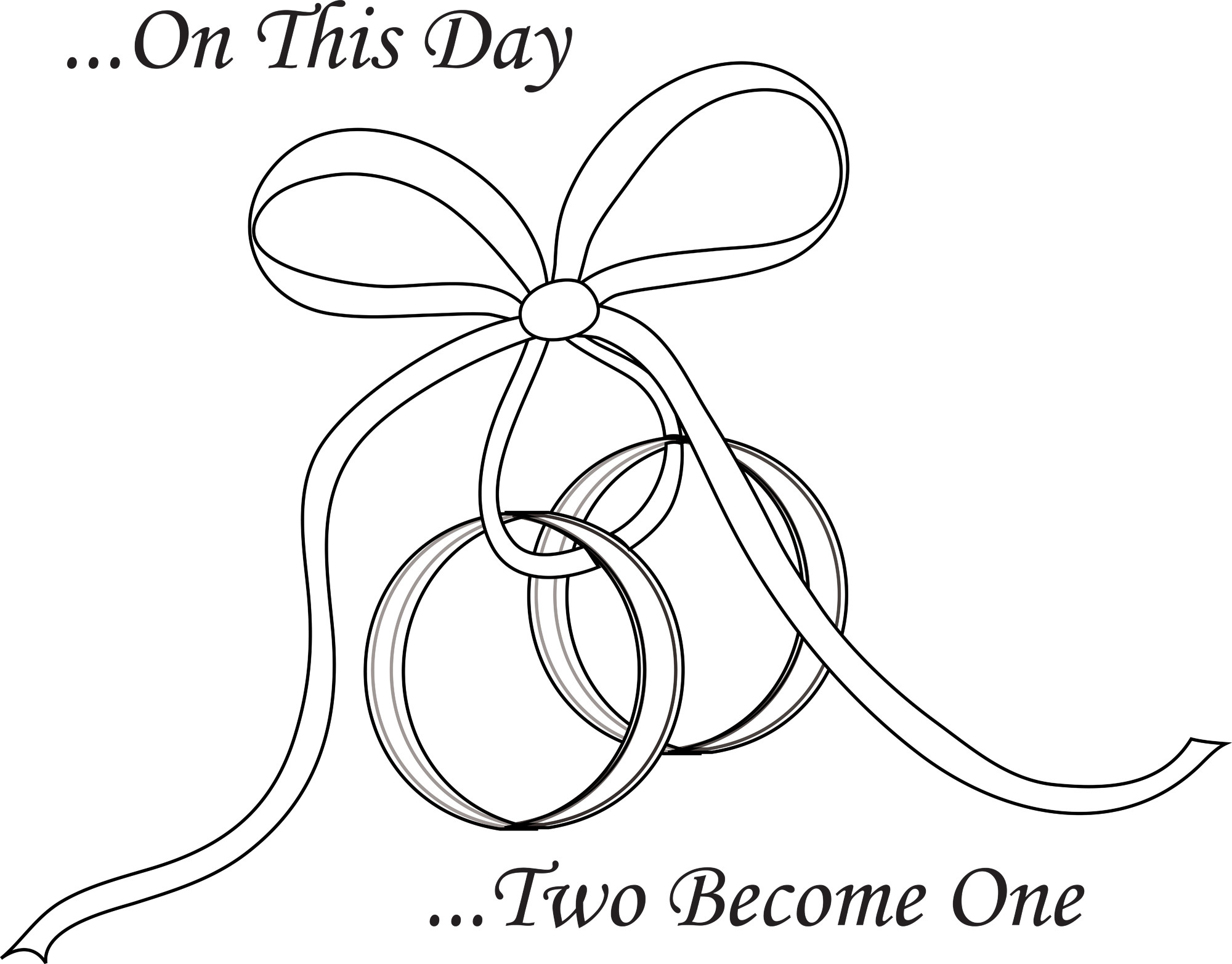 Interlocking Wedding Rings Drawing At Getdrawings Com Free For
