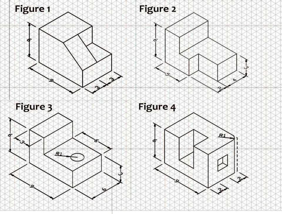 Isometric And Orthographic Drawing Worksheets