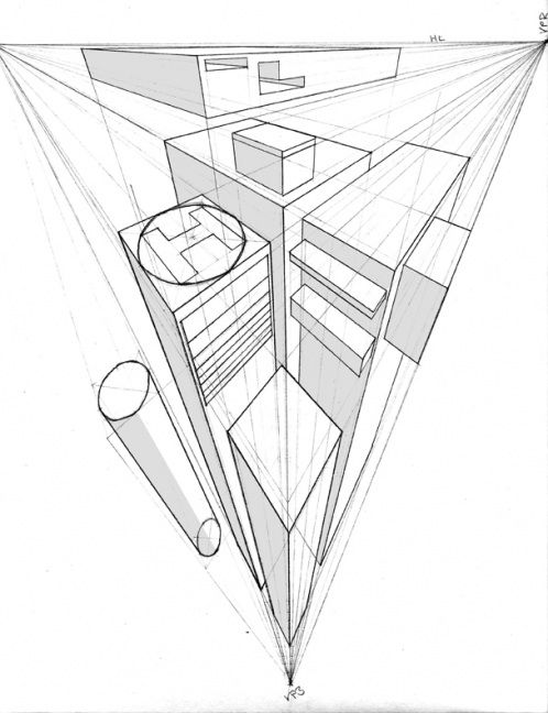 Isometric Drawing Of A Rectangular Prism