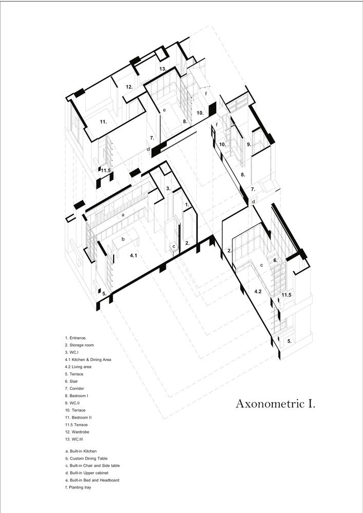 707x1000 10 Best Axonometric Diagrams Images On Architectural