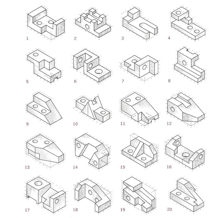 736x768 Image Result For Difference Between Axonometric, Isometric