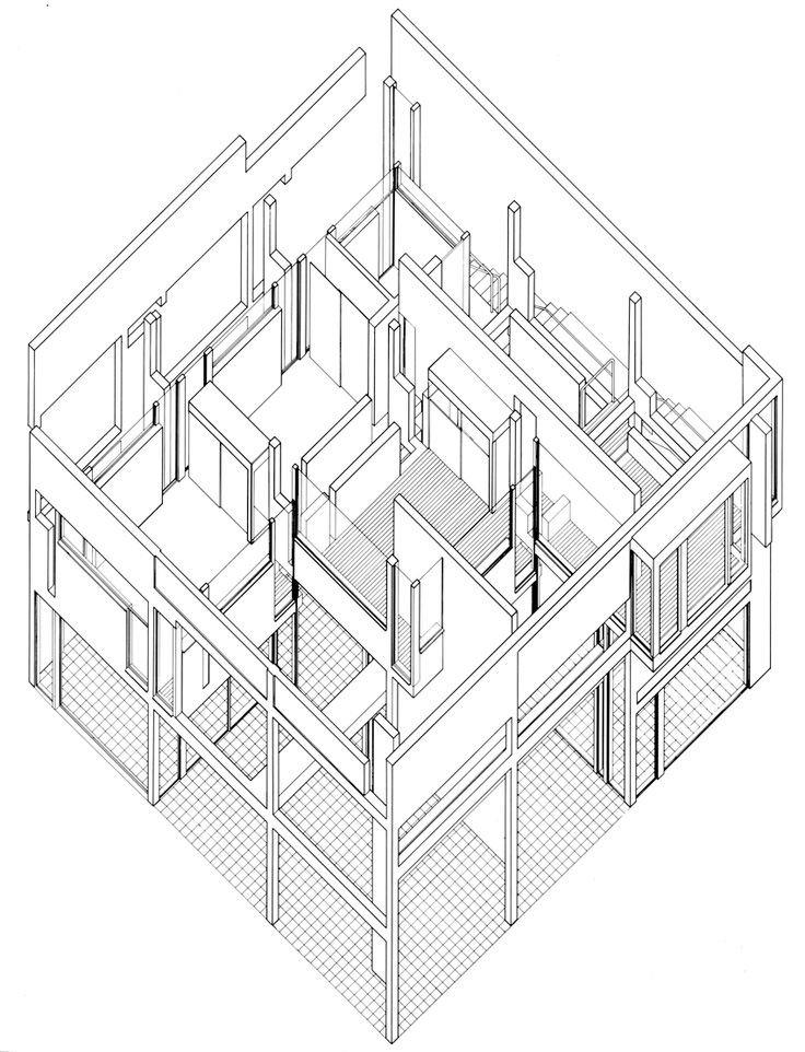 736x962 111 Best Axonometric Drawings Images On Architectural