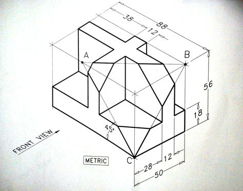 474x372 How To Make Isometric Drawing