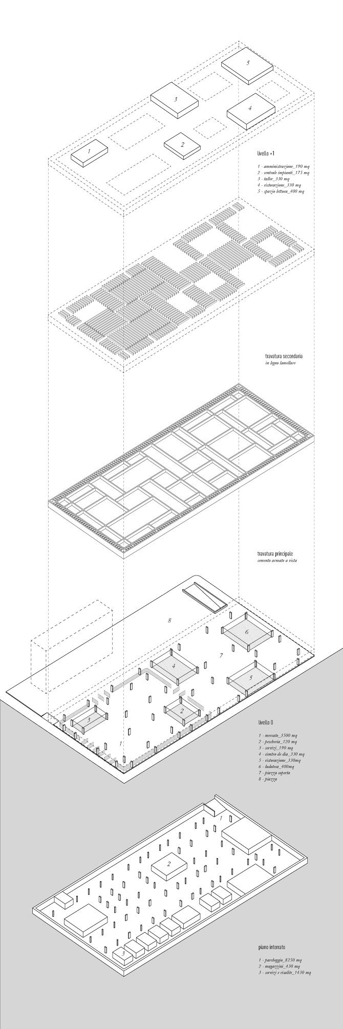 670x2010 53 Best Axonometric Projection Images On Contemporary