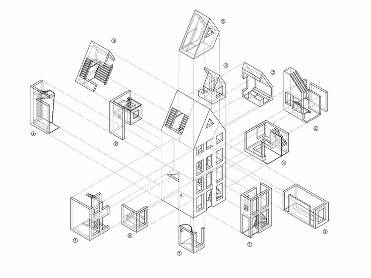 736x551 60 Best Perspective And Isometric Drawing Images