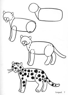 235x330 Easy Drawings Step By Step Animals Best Wallpaper Best Drawing