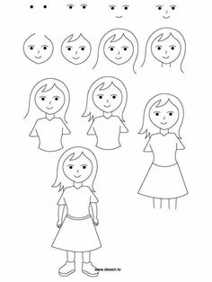 236x314 Jpeg, Learn How To Draw A Boy With Simple Step By Step