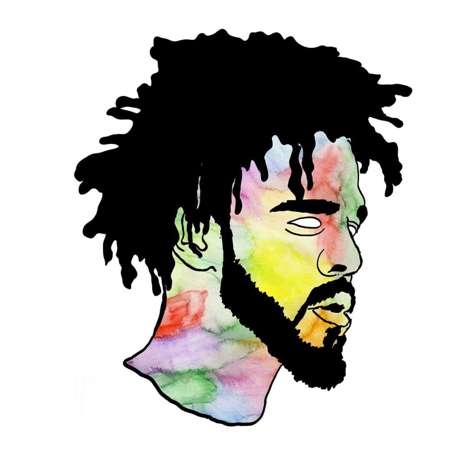 1512x1512 Collection Of J Cole Drawing Step By Step High Quality, Free
