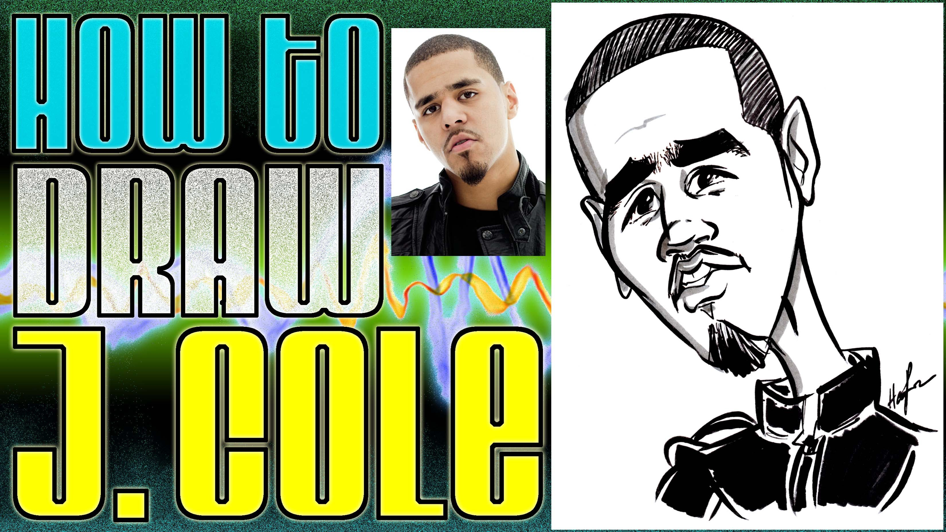 3300x1856 How To Draw A Quick Caricature J. Cole