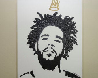 340x270 J Cole Painting Etsy