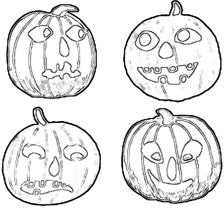 713x670 Halloween Craft Patterns