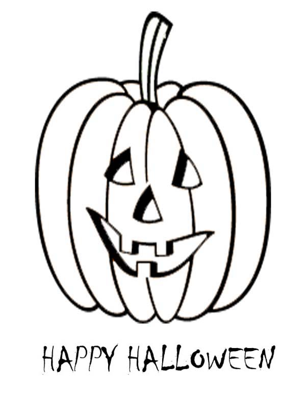 600x776 Jack O Lantern Coloring Pages