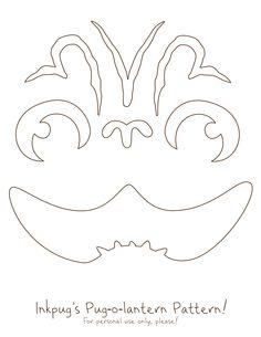236x305 Starbucks Logo Pumpkin Carving Template
