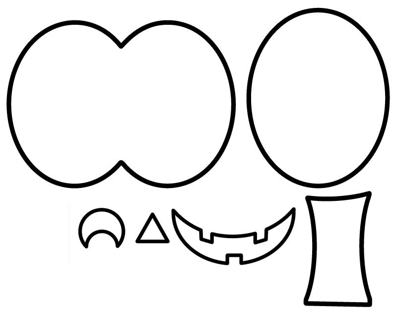 800x637 A Scrap Of Time Jack O Lantern Paper Piecing Pattern