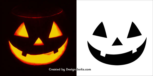 graphic relating to Jack O Lantern Printable known as Jack O Lantern Drawing Designs at  Totally free
