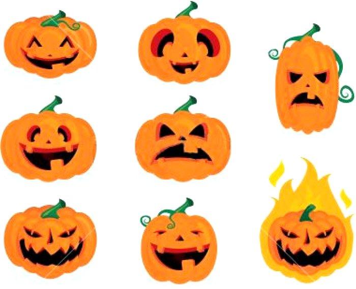 700x569 Pumpkin Face Drawing Ideas