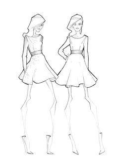 236x333 Fashion Sketch