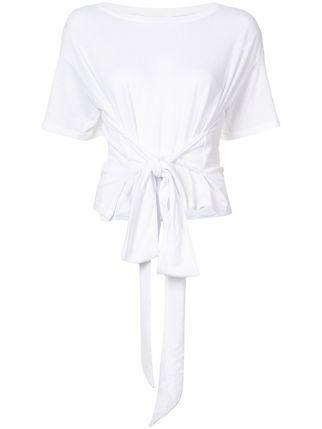 322x429 Jonathan Simkhai Tie Waist T Shirt