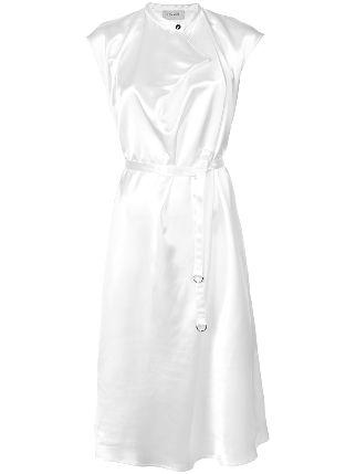 322x429 Lemaire Tie Waist Sleeveless Shirt Dress