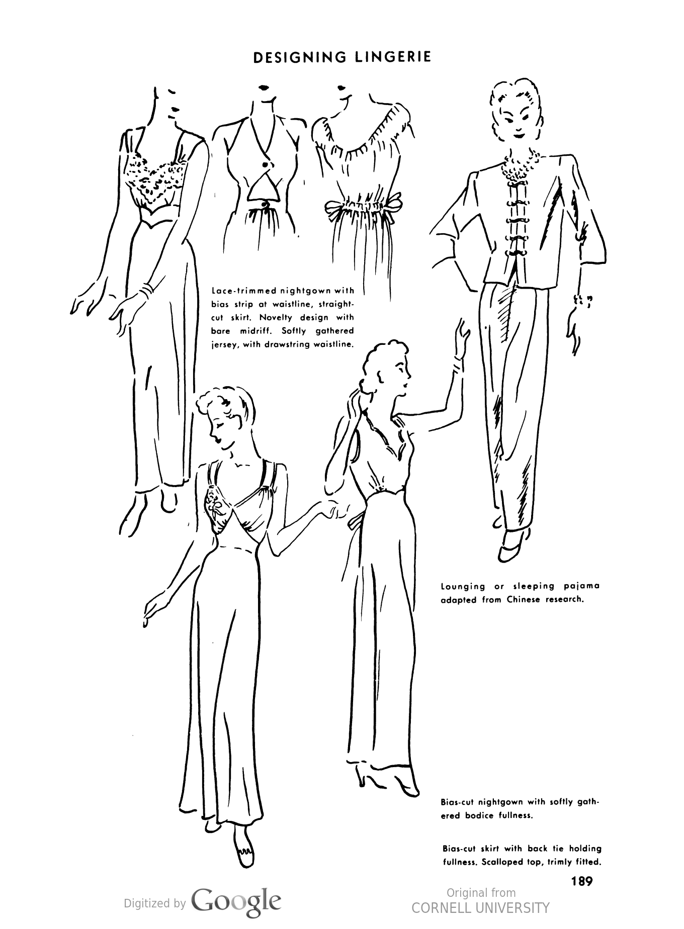 1360x1848 1940s Sleepwear Nightgowns, Pajamas, Robes, Bed Jackets