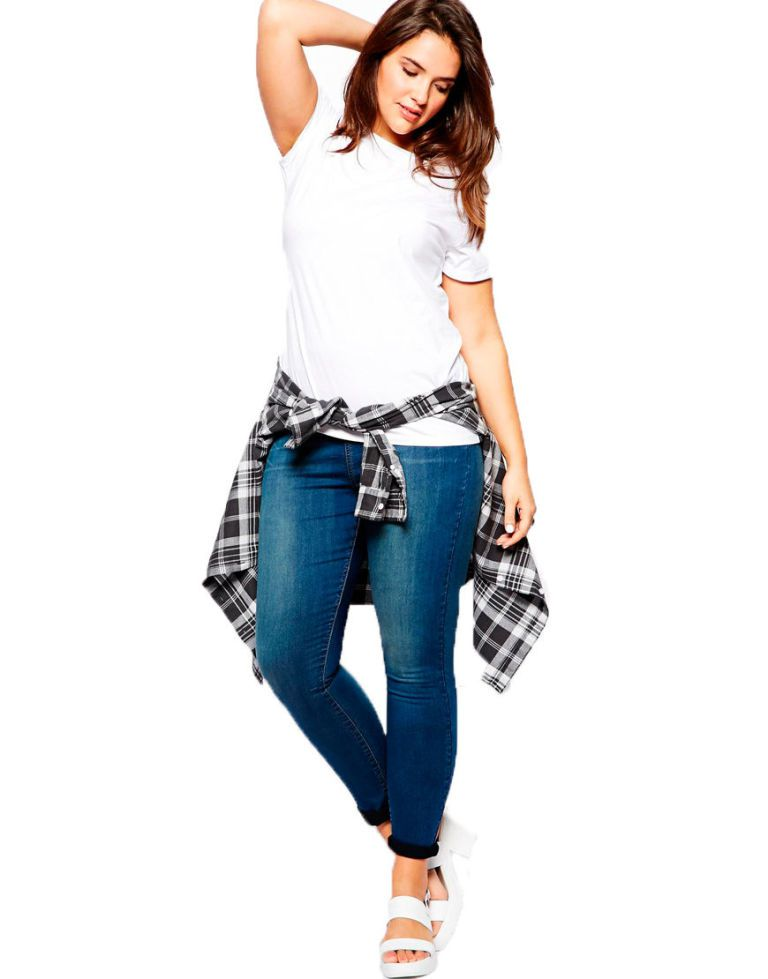 768x979 How To Wear Skinny Jeans If You'Re Curvy