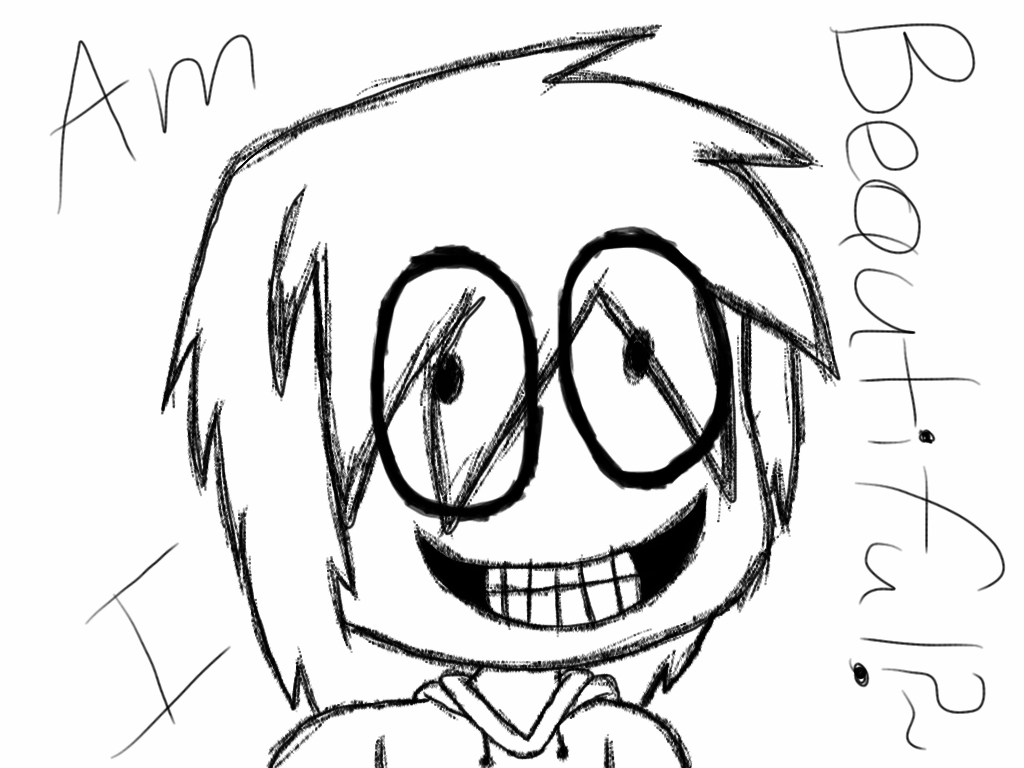 1024x768 Jeff The Killer Ipad Drawing By Eternallyvocaless
