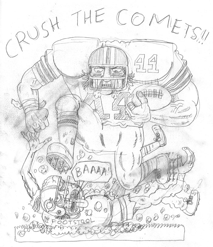 700x812 My Friend Dahmer Blog Jeff The Football Hero