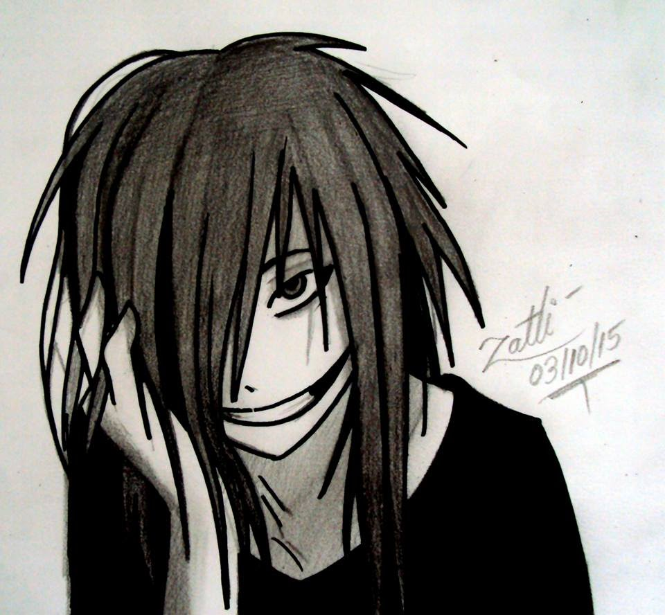 960x888 Drawing Jeff The Killer