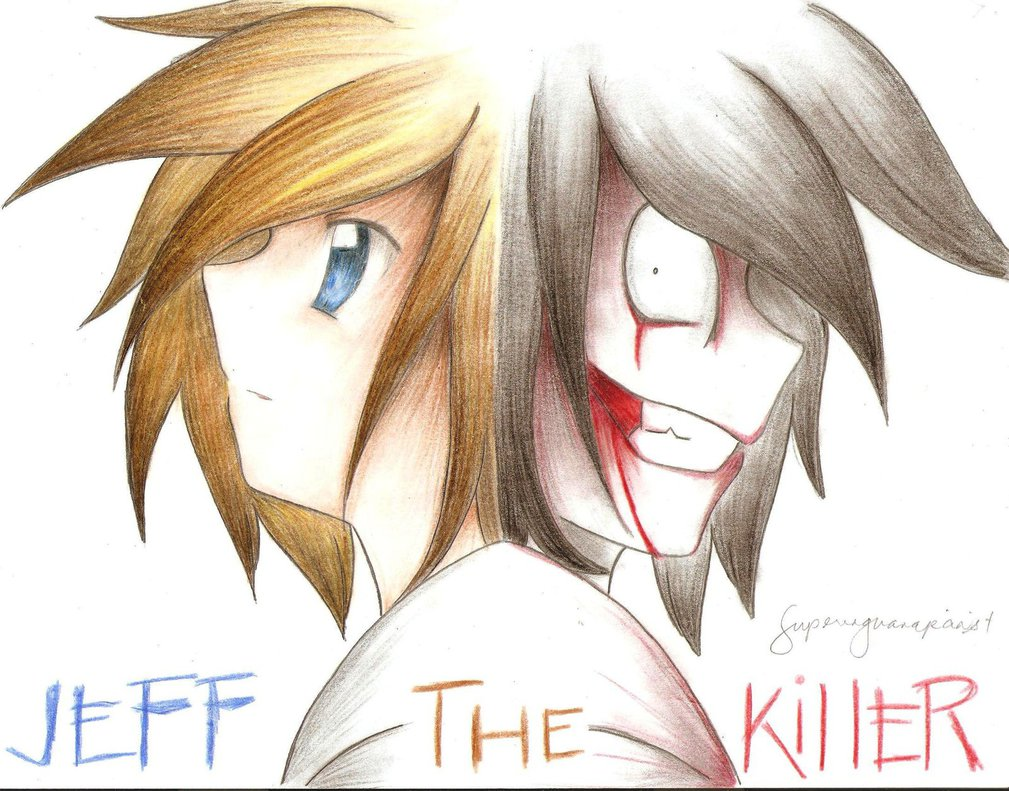 1009x791 Jeff The Killer Colored Pencil By Superenguanapianist