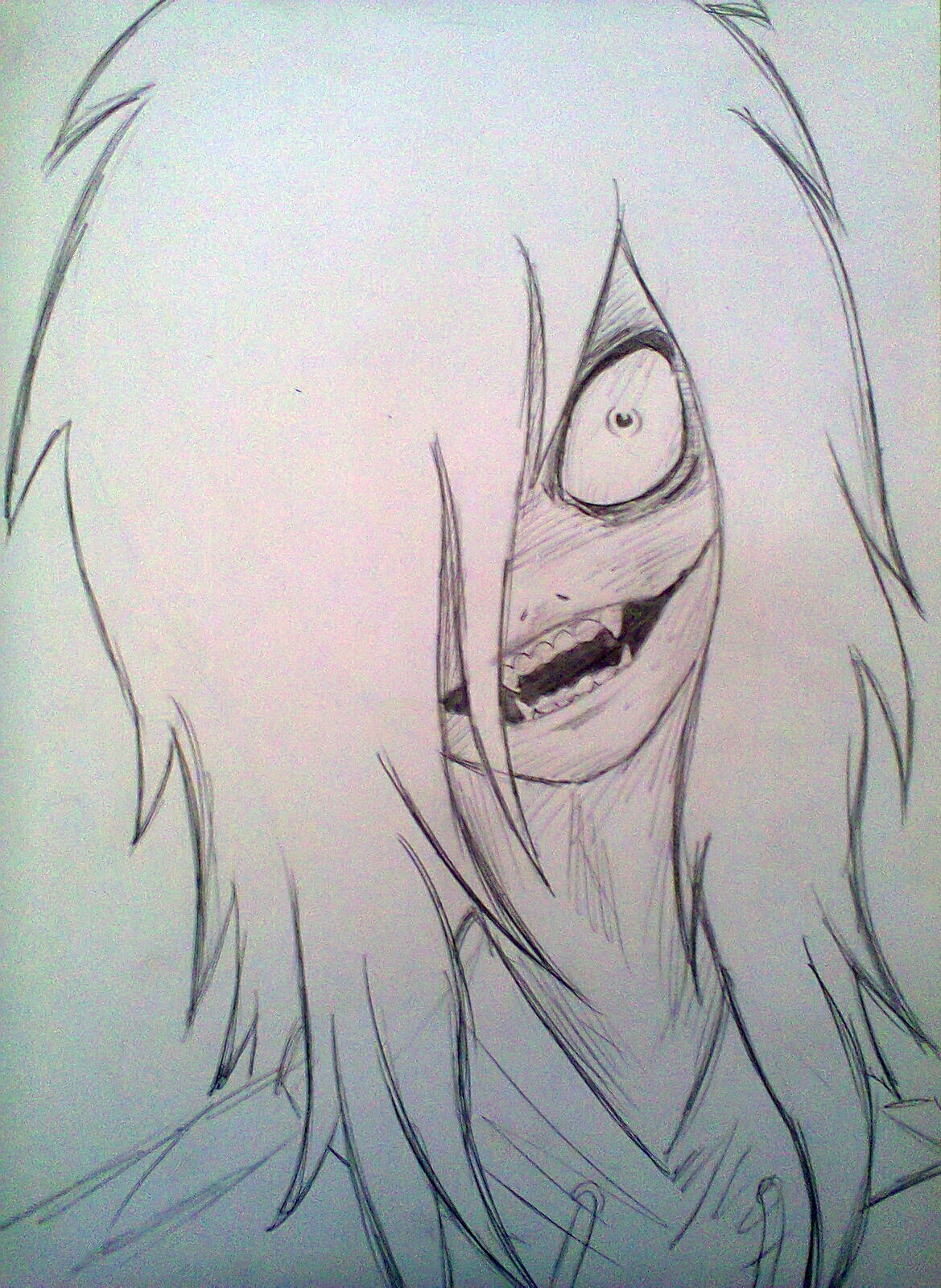 1169x1600 Jeff The Killer Drawing Drawn Jeff The Killer Creepypasta