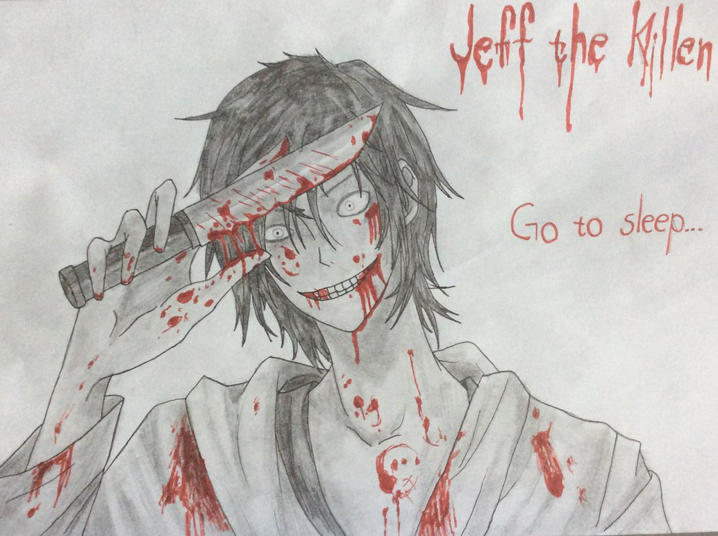 1034x772 Jeff The Killer Drawing Jeff The Killer Drawing By Jokesterhiro