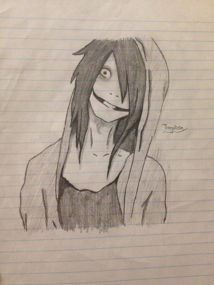 720x960 Jeff The Killer Drawing By Chibi Lover 1987